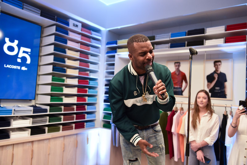 88ce8af27 Lacoste Celebrates Their 85th Anniversary at Yorkdale - Bay Street Bull