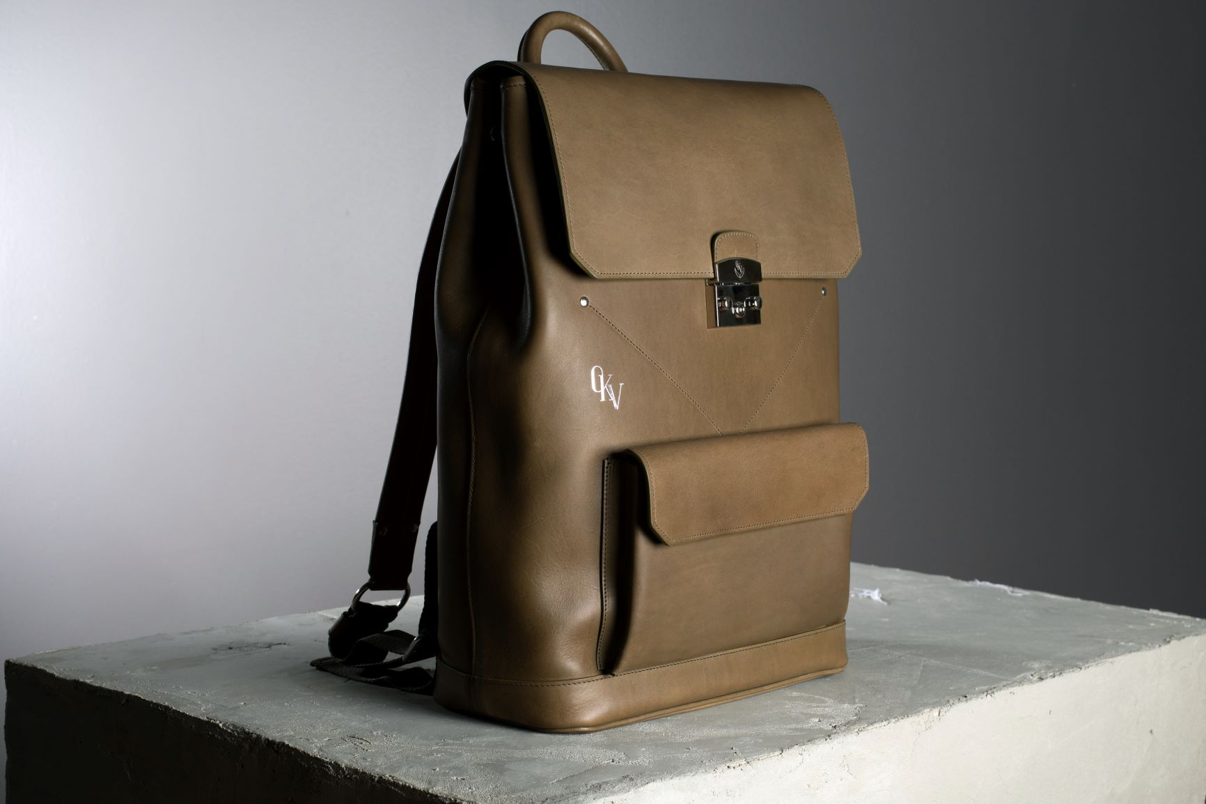 OKV leather backpack