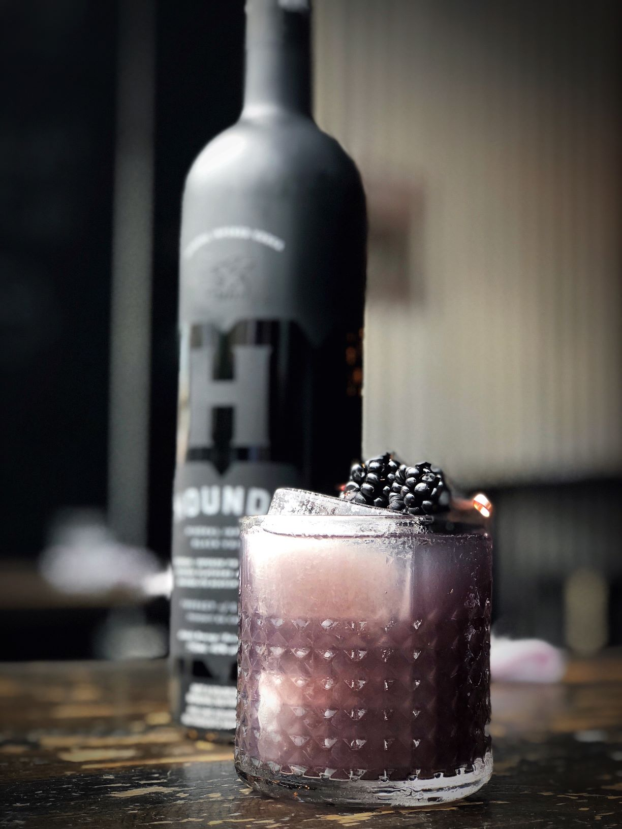 Hounds black vodka
