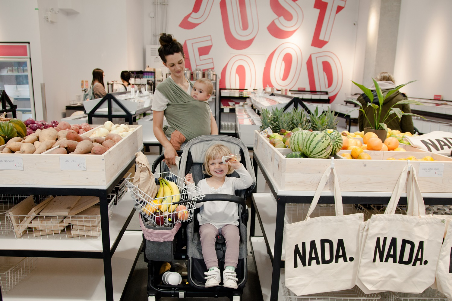 Nada grocery zero waste lifestyle