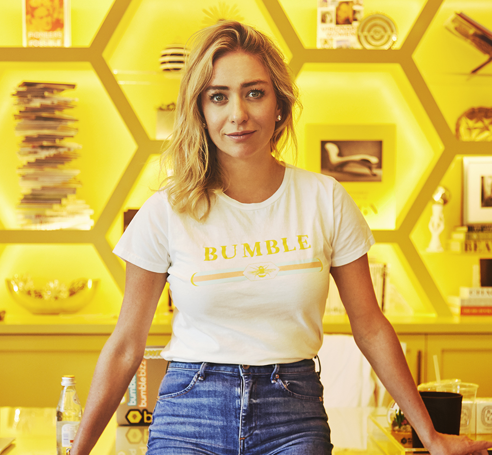 whitney Wolfe herd international women's day